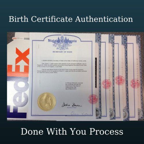 Assumed Name Certificate Package - $249.99